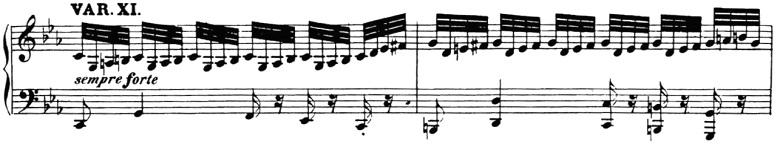 ベートーヴェン「「創作主題による32の変奏曲」ハ短調WoO.80」ピアノ楽譜13