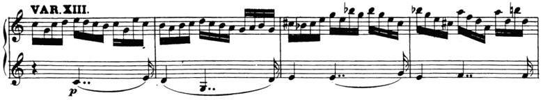 ベートーヴェン「「創作主題による32の変奏曲」ハ短調WoO.80」ピアノ楽譜15