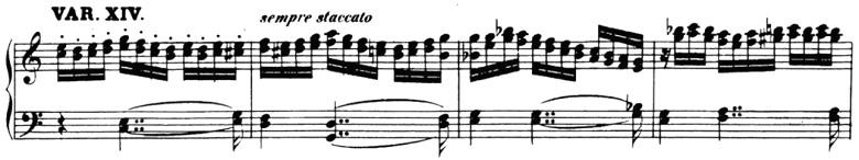 ベートーヴェン「「創作主題による32の変奏曲」ハ短調WoO.80」ピアノ楽譜16