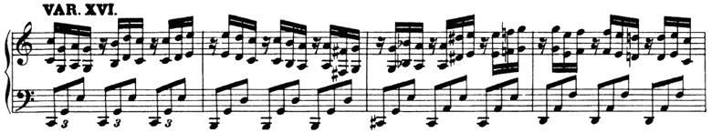 ベートーヴェン「「創作主題による32の変奏曲」ハ短調WoO.80」ピアノ楽譜18