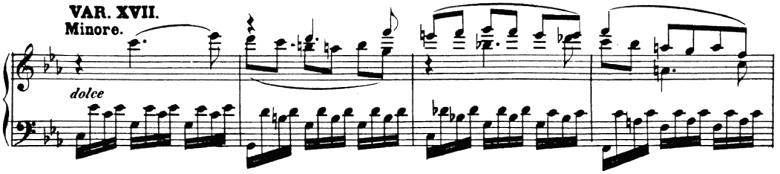 ベートーヴェン「「創作主題による32の変奏曲」ハ短調WoO.80」ピアノ楽譜19