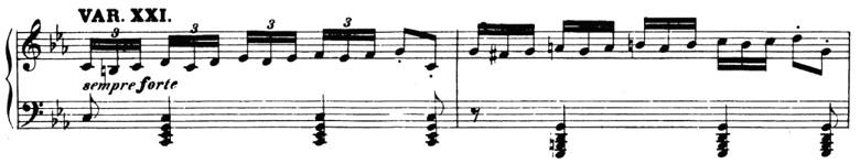 ベートーヴェン「「創作主題による32の変奏曲」ハ短調WoO.80」ピアノ楽譜23