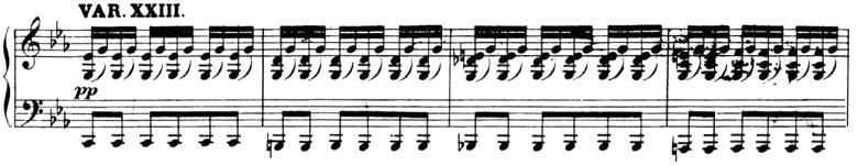 ベートーヴェン「「創作主題による32の変奏曲」ハ短調WoO.80」ピアノ楽譜26