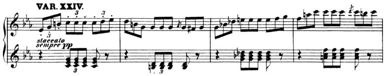 ベートーヴェン「「創作主題による32の変奏曲」ハ短調WoO.80」ピアノ楽譜27
