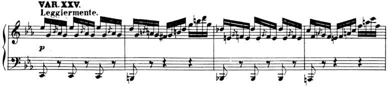 ベートーヴェン「「創作主題による32の変奏曲」ハ短調WoO.80」ピアノ楽譜28