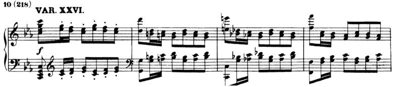ベートーヴェン「「創作主題による32の変奏曲」ハ短調WoO.80」ピアノ楽譜29