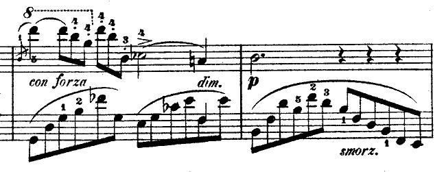 ショパン「ノクターン第1番変ロ短調Op.9-1」ピアノ楽譜3