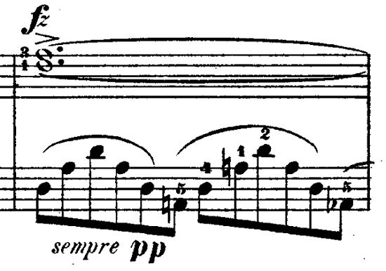 ショパン「ノクターン第1番変ロ短調Op.9-1」ピアノ楽譜8