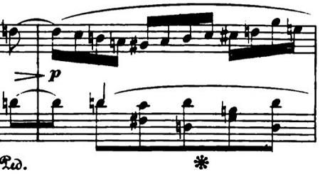 ショパン「ポロネーズ第6番『英雄ポロネーズ』変イ長調Op.53」2種類の経過的部分のピアノ楽譜