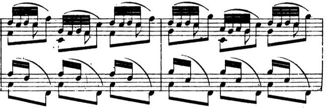 ショパンエチュード第3番ヘ長調Op.25-3ピアノ楽譜2