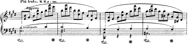 ショパンエチュード第5番ホ短調Op.25-5ピアノ楽譜2
