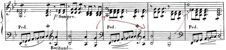 シューベルト「魔王」ト短調D328,Op.1/ピアノ編曲:リスト「シューベルトによる12の歌曲」第4曲S.558-4 楽譜2