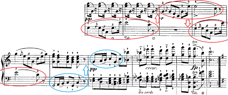 シューベルト「楽興の時」第1番  C dur ピアノ楽譜2