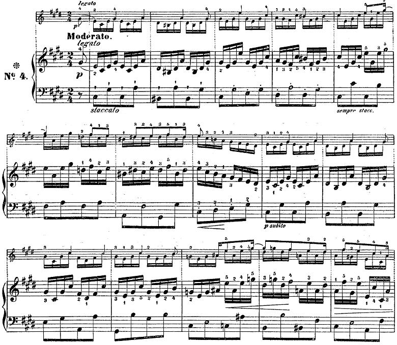 シューベルト「楽興の時」第4番  cis moll ピアノ楽譜