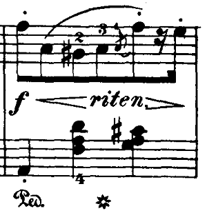 ブルグミュラー「18の練習曲第3番「家路につく牧童」ト長調Op.109-3」ピアノ楽譜4