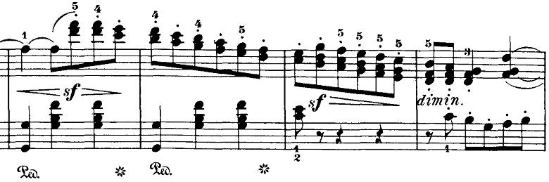 ブルグミュラー「18の練習曲第3番「家路につく牧童」ト長調Op.109-3」ピアノ楽譜6