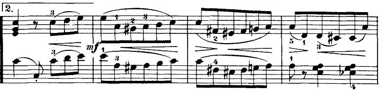 ブルグミュラー「18の練習曲第3番「家路につく牧童」ト長調Op.109-3」ピアノ楽譜7