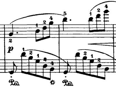 ブルグミュラー「18の練習曲第3番「家路につく牧童」ト長調Op.109-3」ピアノ楽譜8
