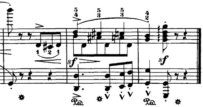 ブルグミュラー「18の練習曲第3番「家路につく牧童」ト長調Op.109-3」ピアノ楽譜9