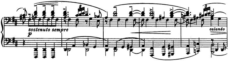 ブラームス「2つのラプソディ第1番ロ短調Op.79-1」ピアノ楽譜3