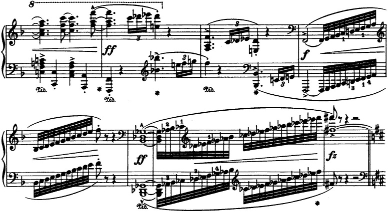 ブラームス「2つのラプソディ第1番ロ短調Op.79-1」ピアノ楽譜5