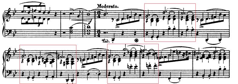 ショパン「バラード第1番ト短調Op.23」ピアノ楽譜1