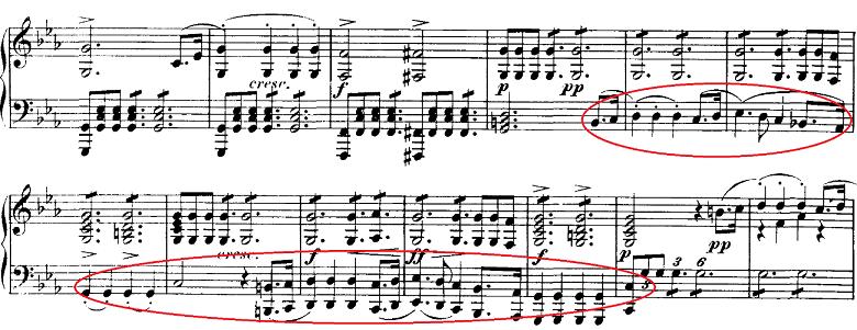 シューベルト「即興曲」第1番Op.90-1 ピアノ楽譜4