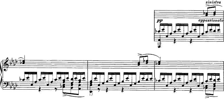 シューベルト「即興曲」第1番Op.142-1 ピアノ楽譜2