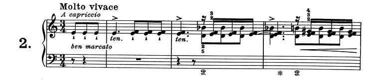 リスト「超絶技巧練習曲集S.139第2番イ短調」ピアノ楽譜1