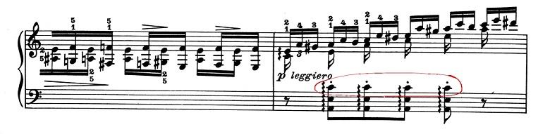 リスト「超絶技巧練習曲集S.139第2番イ短調」ピアノ楽譜2