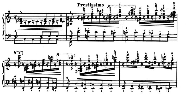リスト「超絶技巧練習曲集S.139第2番イ短調」ピアノ楽譜4