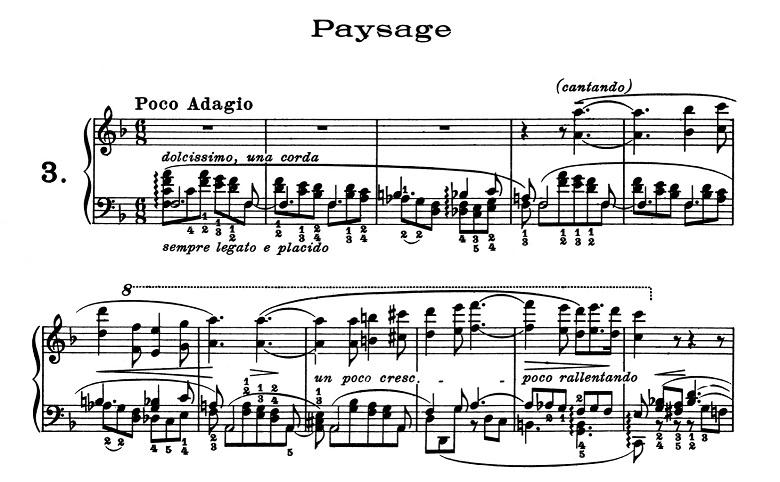 リスト「超絶技巧練習曲集S.139第3番「風景」ヘ長調」ピアノ楽譜1