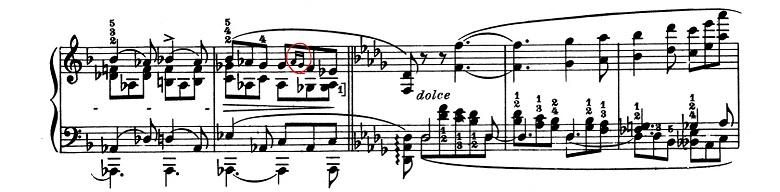 リスト「超絶技巧練習曲集S.139第3番「風景」ヘ長調」ピアノ楽譜2