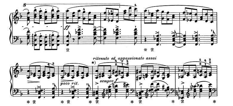 リスト「超絶技巧練習曲集S.139第3番「風景」ヘ長調」ピアノ楽譜4