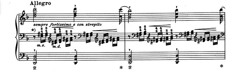 リスト「超絶技巧練習曲集S.139第4番「マゼッパ」ニ短調」ピアノ楽譜2