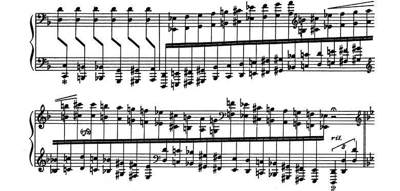 リスト「超絶技巧練習曲集S.139第4番「マゼッパ」ニ短調」ピアノ楽譜3