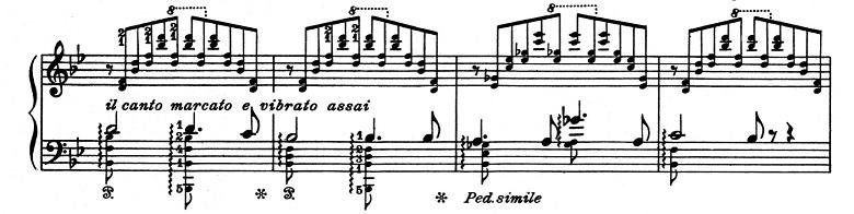 リスト「超絶技巧練習曲集S.139第4番「マゼッパ」ニ短調」ピアノ楽譜4