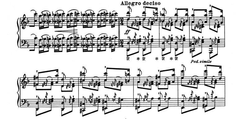 リスト「超絶技巧練習曲集S.139第4番「マゼッパ」ニ短調」ピアノ楽譜5