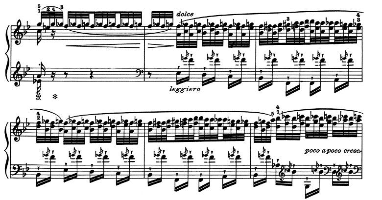 リスト「超絶技巧練習曲集S.139第5番「鬼火」変ロ長調」ピアノ楽譜4