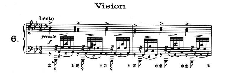 リスト「超絶技巧練習曲集S.139第6番「幻影」ト短調」ピアノ楽譜1