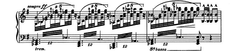 リスト「超絶技巧練習曲集S.139第6番「幻影」ト短調」ピアノ楽譜3