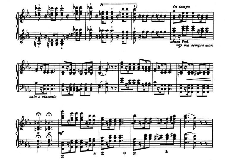 リスト「超絶技巧練習曲集S.139第8番「狩り」ハ短調」ピアノ楽譜3