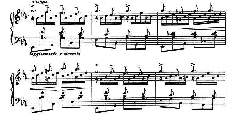 リスト「超絶技巧練習曲集S.139第8番「狩り」ハ短調」ピアノ楽譜4