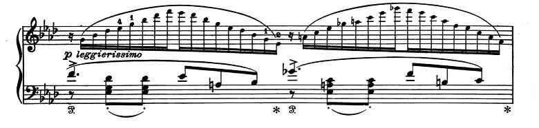 リスト「超絶技巧練習曲集S.139第9番「回想」変イ長調」ピアノ楽譜3