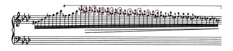 リスト「超絶技巧練習曲集S.139第9番「回想」変イ長調」ピアノ楽譜4