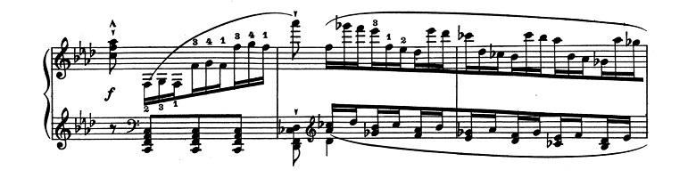 リスト「超絶技巧練習曲集S.139第10番 ヘ短調」ピアノ楽譜2