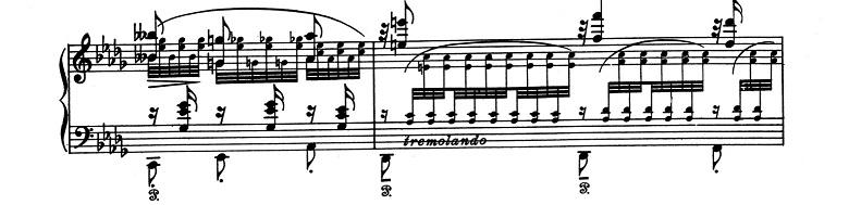 リスト「超絶技巧練習曲集S.139第12番「雪かき(雪あらし)」変ロ短調」ピアノ楽譜3