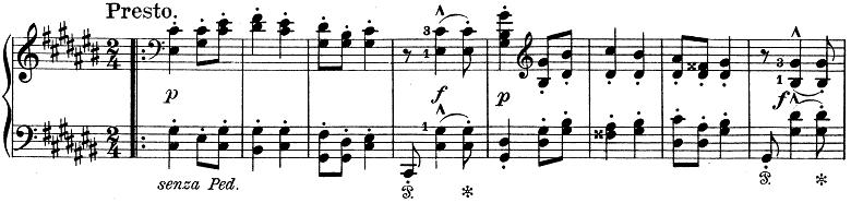 リスト「ハンガリー狂詩曲第6番変ニ長調S.244-6」ピアノ楽譜4