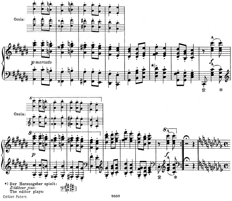 リスト「ハンガリー狂詩曲第6番変ニ長調S.244-6」ピアノ楽譜5