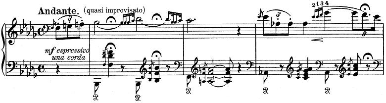 リスト「ハンガリー狂詩曲第6番変ニ長調S.244-6」ピアノ楽譜6